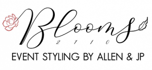 Blooms 2710 Event Styling Logo
