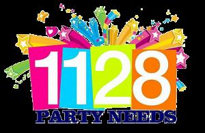 1128 party needs logo