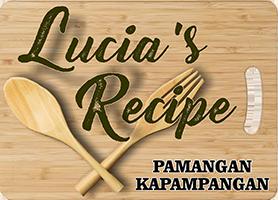 Lucia's Recipe Logo