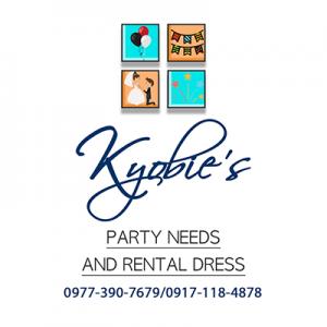 Kyobies Party Needs and Rental Dress Logo