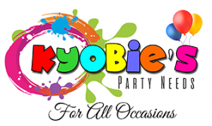 Kyobie's Party Needs Logo