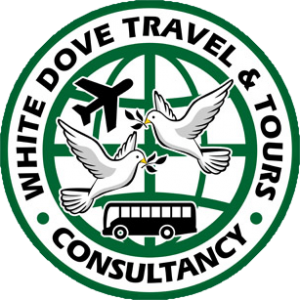 white dove travel and tours logo