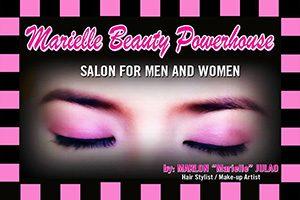 Marielle Beauty Powerhouse Salon Logo