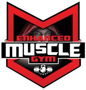 Enhanced Muscle Gym Logo