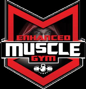Enhanced Muscle Gym Logo