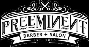Preeminent Barber Salon Logo