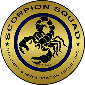 Scorpion Squad Security and Investigation Agency Logo